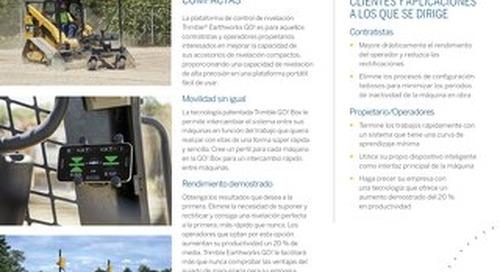 Trimble Earthworks GO! Datasheet - Spanish
