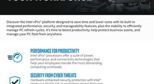 Intel vPro® Business-Class Platform Built for Your Workforce