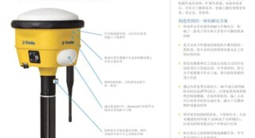 Trimble SPS986 GNSS Smart Antenna Datasheet - Chinese