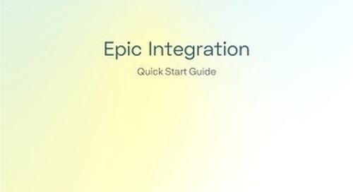 Epic Integration Quick Start Guide