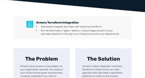 Armory Terraform Integration Feature