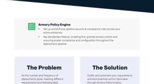 Armory Policy Engine Feature