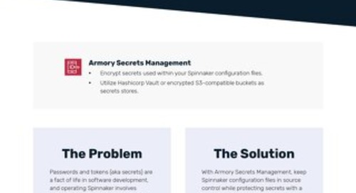 Armory Secrets Management Feature