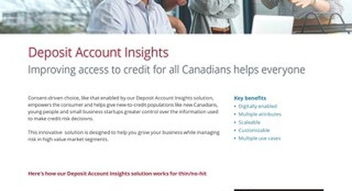Deposit Account Insights