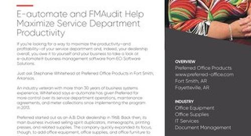 Preferred Office Technologies: Maximizing Service Productivity