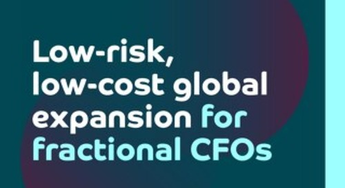 Low-risk, low-cost global expansion for fractional CFOs
