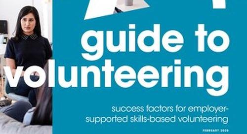 Media Trust - Volunteering Brochure