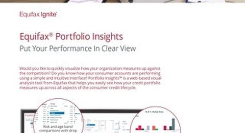Portfolio Insights Product Sheet