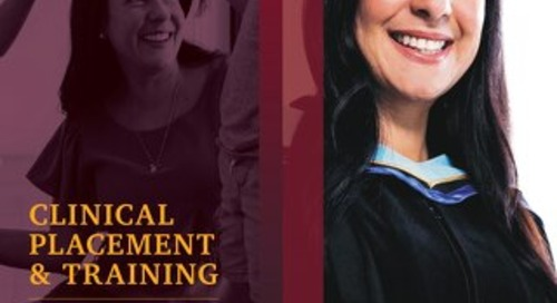 MFS_Clinical Placement and Training_Viewbook_2020