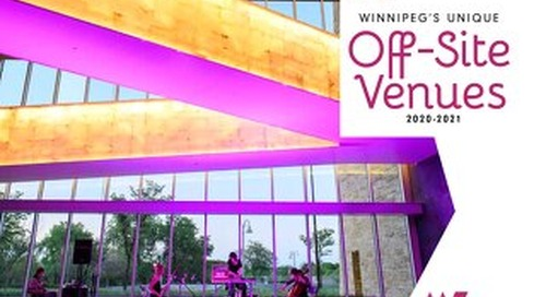 Winnipeg's Unique Offsite Venues 2020