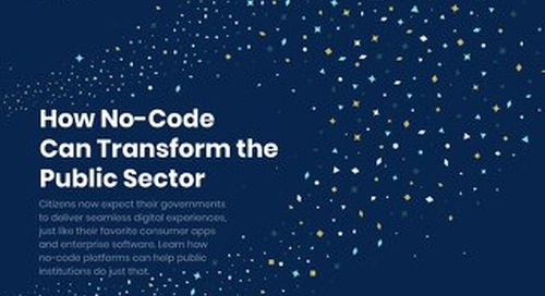 eBook: How No-Code Can Transform the Public Sector