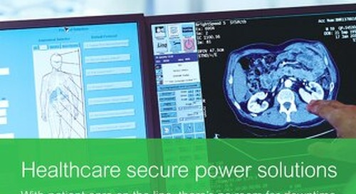 Healthcare Secure Power Solutions Brochure