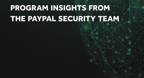 Program Insights from the PayPal Security Team