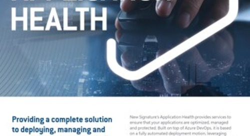 NS:GO Application Health 2020