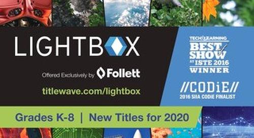 Lightbox 2020 Catalog