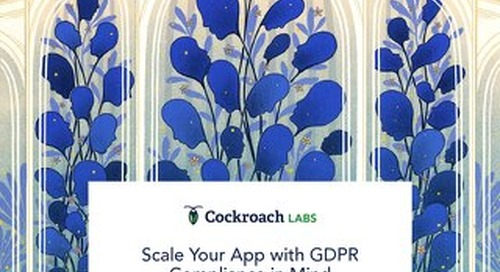 Guide to Scaling Your App with GDPR Compliance