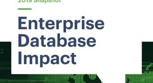 Enterprise Database Impact Report: 2019 Snapshot of Data Localization Regulations