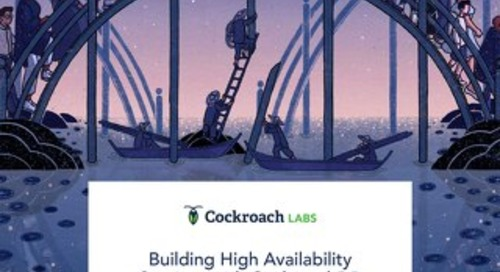Building High Availability Services with CockroachDB