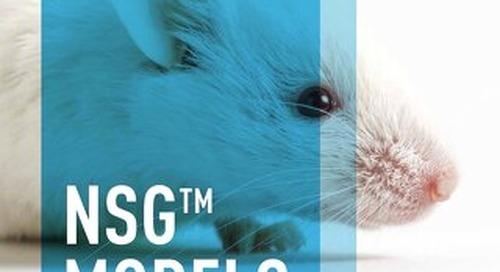 NSG Models: The Most Versatile Immunodeficient Strain