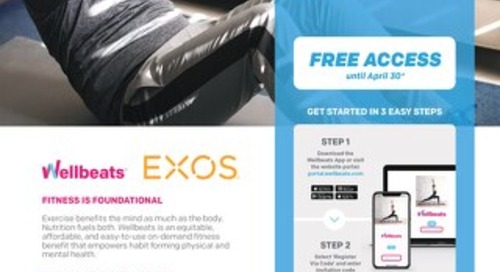 Free Wellbeats access