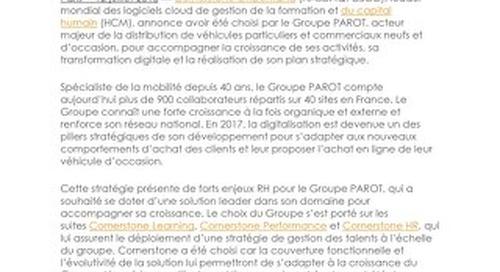 Case Study Groupe Parot