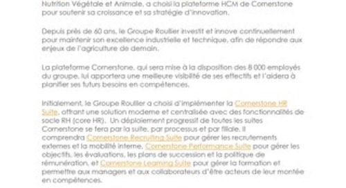 Case Study Groupe Roullier