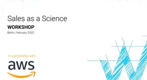 Sales as a Science Workshop by Winning by Design (Berlin Feb 2020)