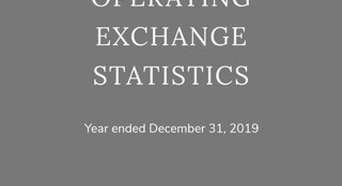 Elite Alliance Report of Key Operating Exchange Statistics 2019