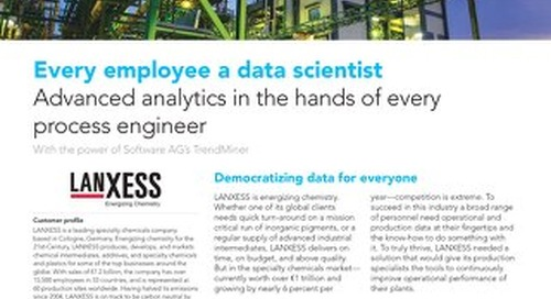 Advanced analytics in the hands of every process engineer