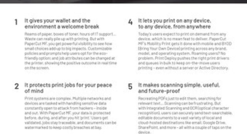 PaperCut Top 10 Customer Guide