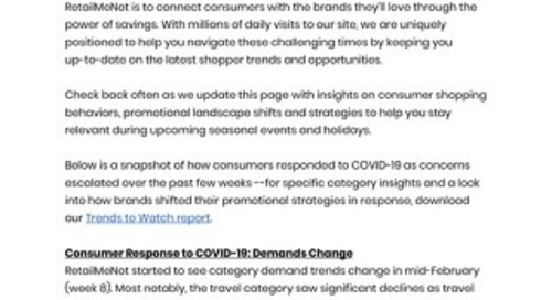 How Your Brand Can Respond When Consumer Demand Shifts