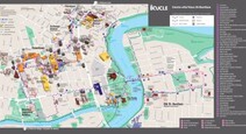 La Boucle Map Brochure 2020