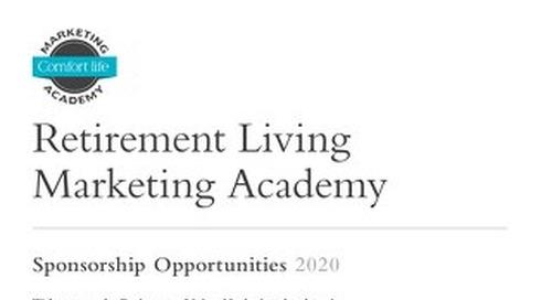 Comfort Life Marketing Academy Sponsorship