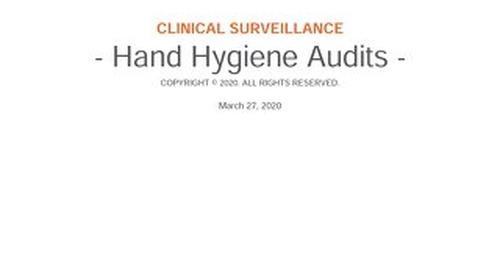 RL6: Hand Hygiene Audits