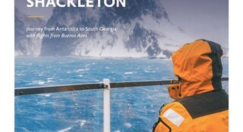 Celebrating Shackleton: Journey from Antarctica to South Georgia