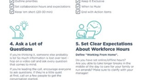 Chorus Work From Home Best Practices