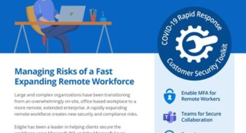 Rapidly Securing the Extended Enterprise