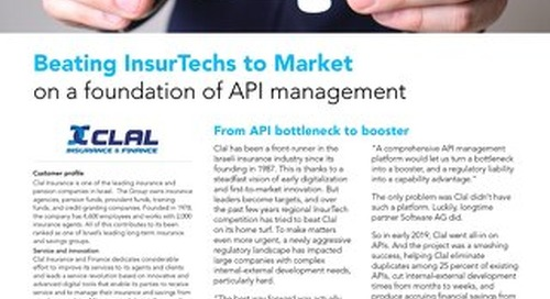 Beating InsurTechs to Market on a foundation of API management