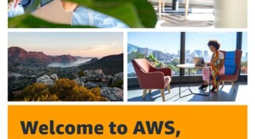 Welcome to AWS, Cape Town