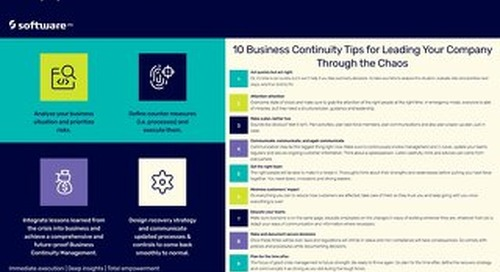 Infographic: 10 Business Continuity Tips with ARIS