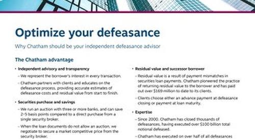 Optimize your defeasance