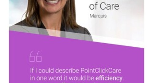 Customer Testimonial: Marquis and the Continuum of Care