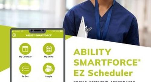 ABILITY SMARTFORCE EZ Scheduler