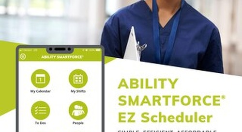 ABILITY SMARTFORCE EZ Scheduler