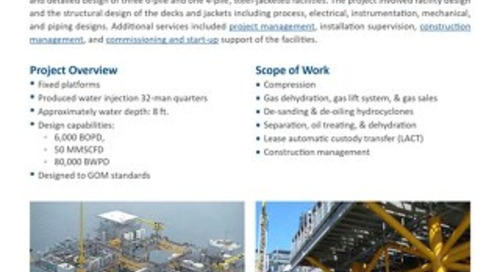 Black Bay Facility Project Profile