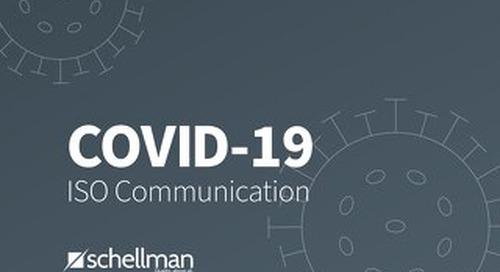 COVID-19 ISO Communication