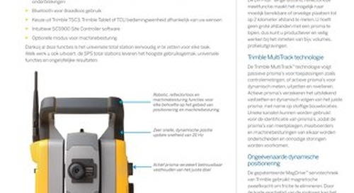 Trimble SPSX30 Datasheet - Dutch