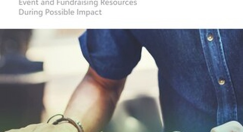 Toolkit: Event and Fundraising Resources During Possible Impact