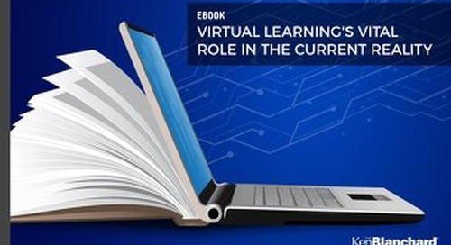 Virtual Learning's Vital Role in the Current Reality