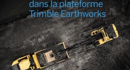Trimble LOADRITE Payload Management for Trimble Earthworks Grade Control Platform - French